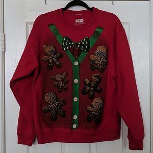 Men's STAR WARS Christmas Sweatshirt